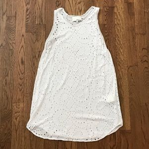 3.1 Phillip Lim white top with hole patterns